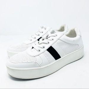 Steve Madden Braden Platform Sneaker White 9